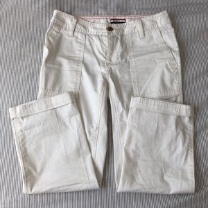 Tommy Hilfiger white high rise pants